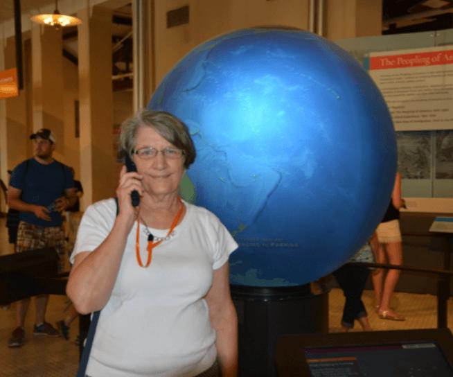 Kathryn Haueisen travels