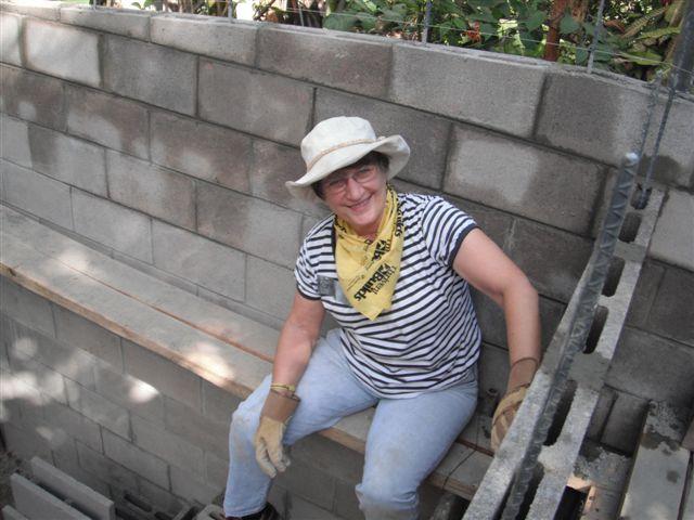 Kathryn Haueisen - Taking a break - El Salvador