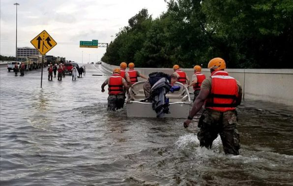 TX Army National Guard Hurricane Harvey Response