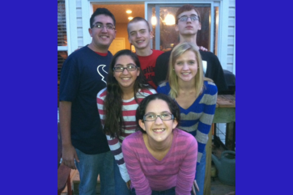Grandchildren on Thanksgiving Day