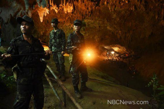 Cave rescue Thailand