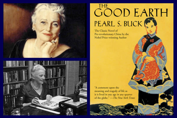 Pearl S Buck collage