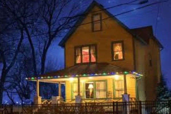 A Christmas Story - movie house